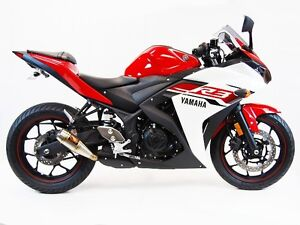 Image Is Loading Compeion Werkes Slip On Exhaust Yamaha R3 2017