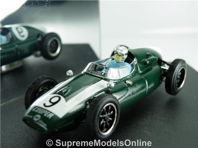 COOPER CLIMAX T51 CAR MODEL BRUCE MCLAREN 1 43 SIZE USA GP QUARTZO Q4101 GREEN T