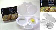 Escalfador de huevos de Microondas Ahorra tiempo huevos simplificada no ensucia Microweavable Huevo Poach