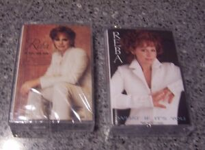 Two-Reba-McEntire-SEALED-NM-CASSETTES