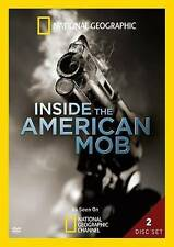 INSIDE THE AMERICAN MOB (NATIONAL GEOGRAPHIC) 2 DISC DVD SET NEW
