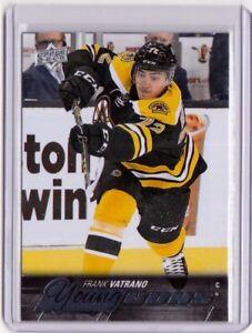 FRANK-VATRANO-15-16-Upper-Deck-UD-Young-Guns-YG-Rookie-455-MINT-Bruins-Card