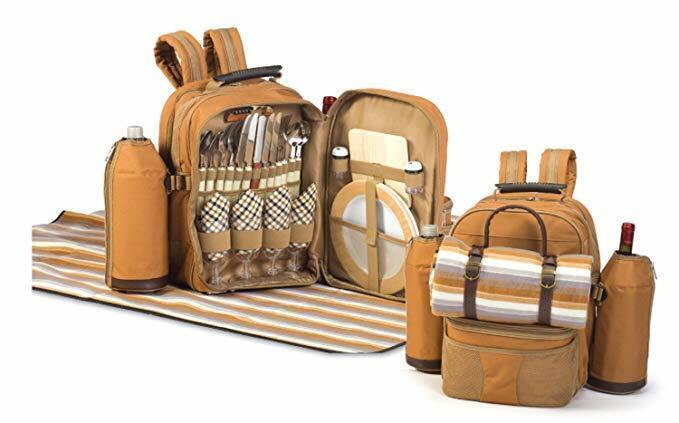 Oak & Olive Tremont 4 Person Picnic Backpack