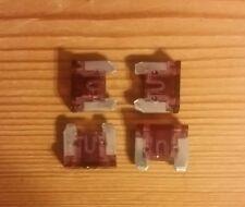 4 micro mini fusibles 40A 40 Amp auto moto car automobile voiture 11x10 mm