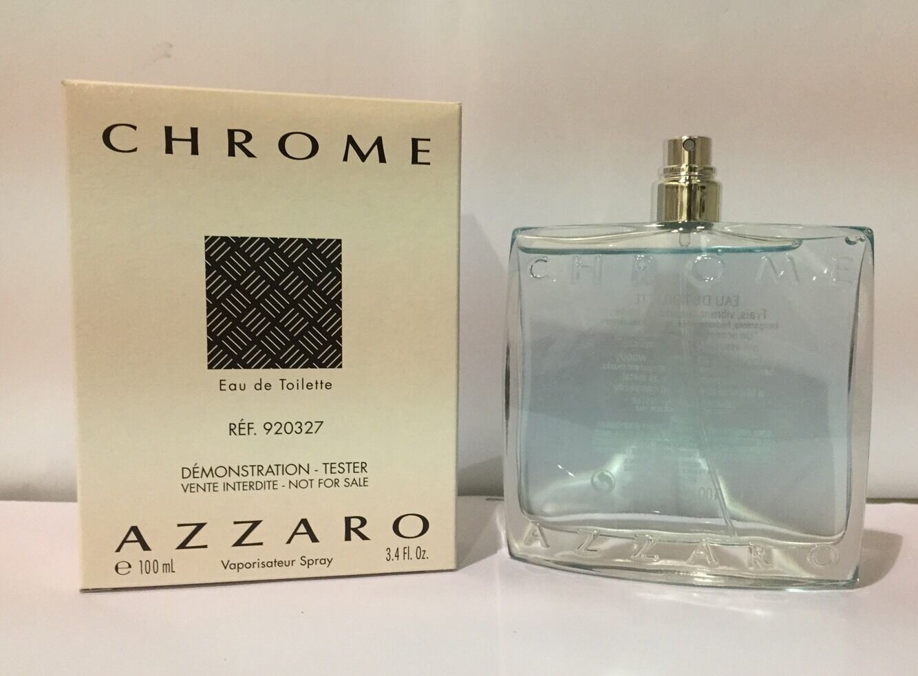 Chrome by loris azzaro 3 4 oz edt spray brand new tester for Chrome azzaro perfume