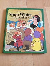 WALT DISNEY, SNOW WHITE AND THE SEVEN DWARFS. POP UP. 0671448978