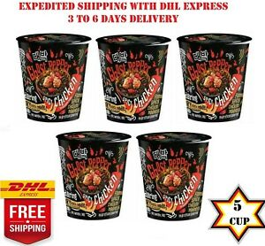 5-x-Mamee-Daebak-Instant-Ramen-Noodle-Korean-Ghost-Pepper-HOT-SPICY-CHICKEN-80g