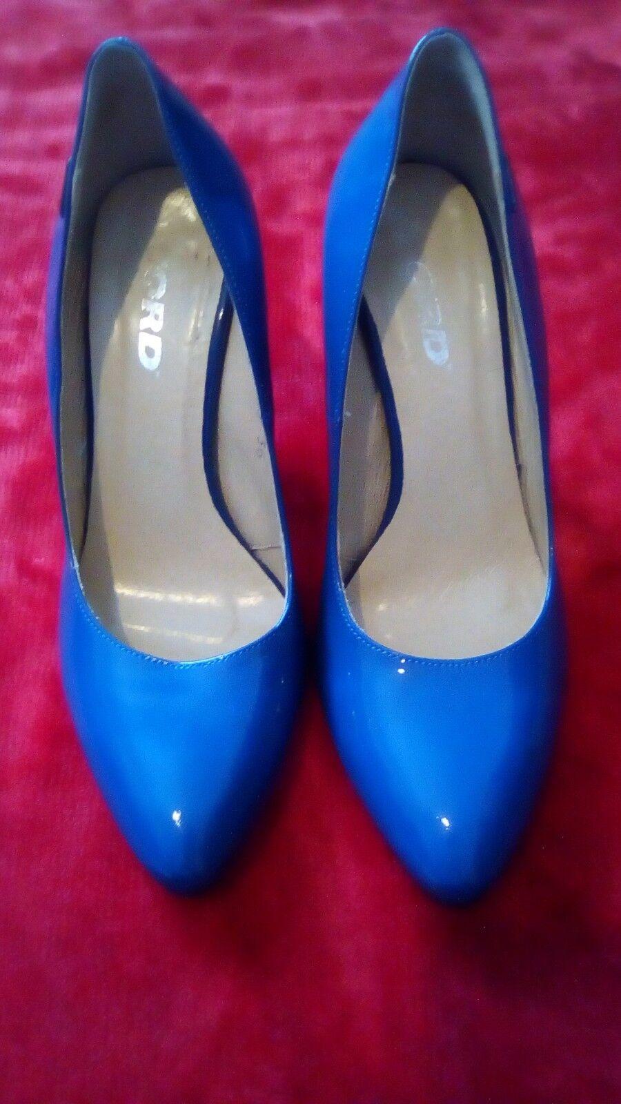 Moda jest prosta i niedroga Ladies Blue  HEELS Shoes Size uk 3 / 36