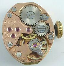 Vintage Ladies Tissot Mechanical  Wristwatch Movement - Parts / Repair