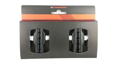 2 Paar Promax Fahrrad Bremsschuhe Felgen Bremsgummi asymetrisch V-Brake 70mm