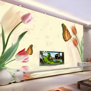 3D Butterfly 647 Wallpaper Murals Wall Print Wallpaper Mural AJ WALL AU Kyra