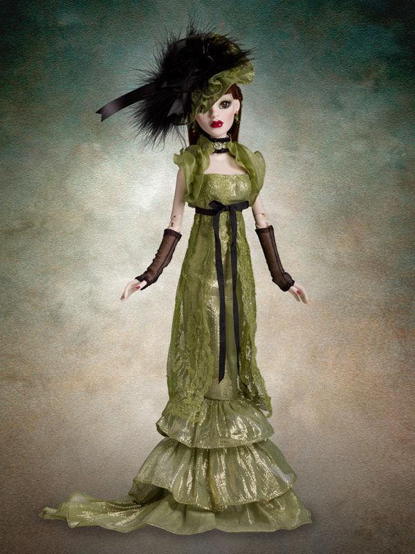 Beautiful Mossy Tombstone Parnilla doll NRFB NRFB NRFB Evangeline Ghastly 35d83f