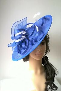 Black with pink Feather Fascinator..Hatinator shaped disc Wedding.races.new