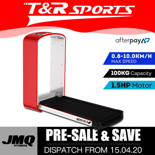 JMQ Fitness SPS1 Foldable Electric Treadmill Running Machine Fitness Red
