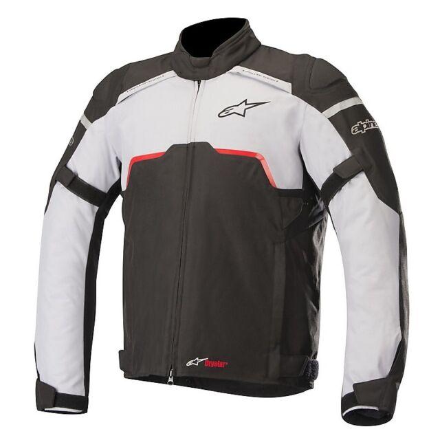 Giacca Moto Alpinestars 3204718/1190 Hyper Drystar Grigio Chiaro