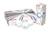 Callaway 2017 Supersoft Golf Balls (one Dozen) White Free Shipping