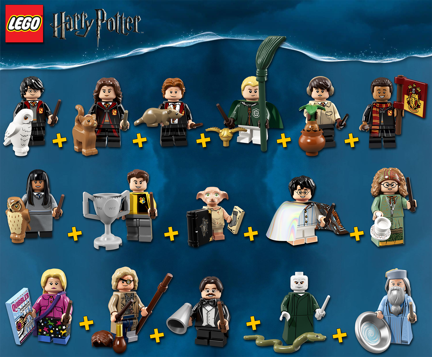 LEGO Minifigures Harry Potter  71022 - Serie Complete - 100% NEW   NEUF