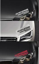 Para Hyundai-performance Faros cheques Coche Decal Sticker Adhesivo-I30