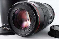 [ Excellent++++! Canon EF100mm F2.8 L IS USM Macro DSLR Lens From Japan##