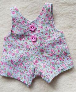 Overall-Rose-Pattern-For-ca-5-7-8-7-1-8in-Bears-Or-Doll-Handarbeit