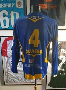 Maillot-jersey-shirt-fc-joue-les-tours-worn-porte-ligue-1-2-france-cfa-national