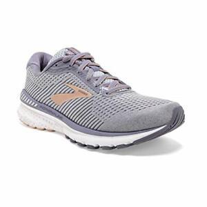 Brooks-Womens-Adrenaline-GTS-20-Running-Shoe-Grey-Pale-Peach-White-Size-7-5-qq