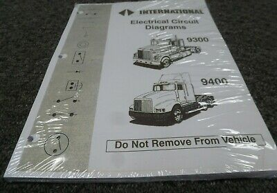 1992 International 9300 9400 9900 Truck Electrical Wiring ...