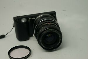 SONY E MOUNT ADAPTED 28MM F2.8 OLYMPUS ZUIKO PRIME LENS ALL A7 NEX,A6000