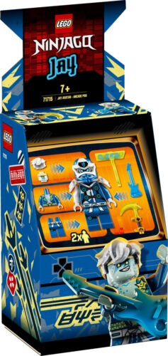 71715 LEGO NINJAGO Jay Avatar Arcade Pod 47 Pieces Age 7 Years+