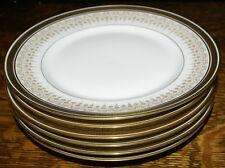 "Bernardaud D & C Company Delinieres Greek Key Limoges * SIX Dinner Plates 9 5/8"""