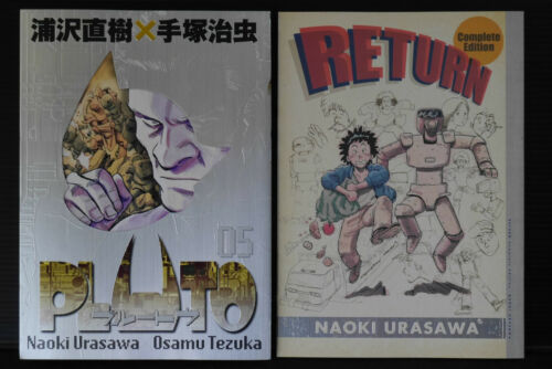JAPAN Naoki Urasawa x Osamu Tezuka manga Pluto Vol.5 Deluxe Edition