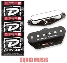 Seymour Duncan Quarter Pound Tele Telecaster Guitar Pickup Set ( 3 STRING SETS )