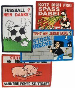 verschiedene-Anti-Aufnaeher-Patch-ideal-fuer-Kutte-Sammler-Fans-fun