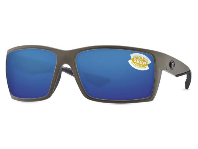 888e7f8236 Costa Del Mar Reefton Polarized Rft198 OBMP Sunglasses Moss Frame ...