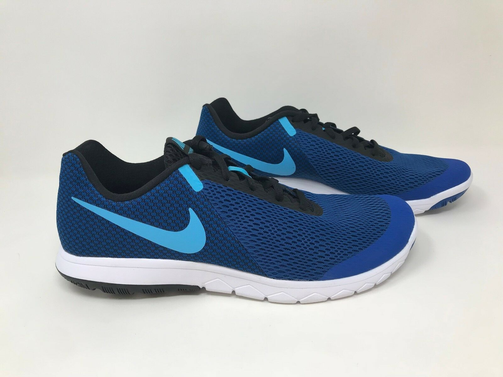 New! Men's Nike 881802-404 Flex Experience 6 Running Shoes - Royal Blue S59