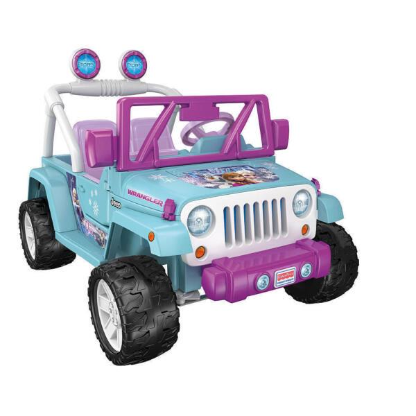 Price Of A Used Jeep Wrangler: Fisher-Price Disney Frozen Jeep Wrangler Ride On Car