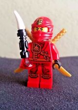 NEW Lego 3 Ninjago Ninja Kai Minifig GOLD DRAGON SWORDS Minifigure Weapons 2507