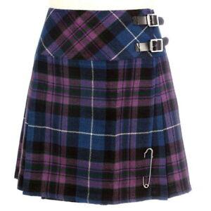 1e7975c44 Scottish Ladies Mini Pride Of Scotland Tartan Kilt/Women Skirt 16 ...
