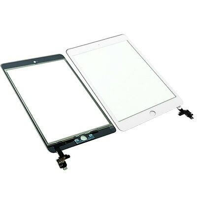 Outer Glass Touch Screen Digitizer Replacement Assembly For iPad Mini 3 White