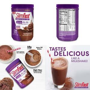 Slimfast-Diabetic-Weight-Loss-Chocolate-Milkshake-Mix-10G-Of-Protein-12-8Oz