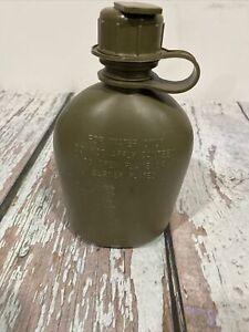 US Military Surplus 1 QUART HARD PLASTIC CANTEEN w NBC CAP BPA FREE USGI