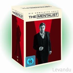 DVD-Box-THE-MENTALIST-DIE-KOMPLETTE-SERIE-Staffel-1-7-34-DVD-s-NEU-OVP