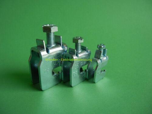 70mm² für CU-Schiene 12 x 5mm mit Montagehilfe Sammelschienenklemme SK70 F5