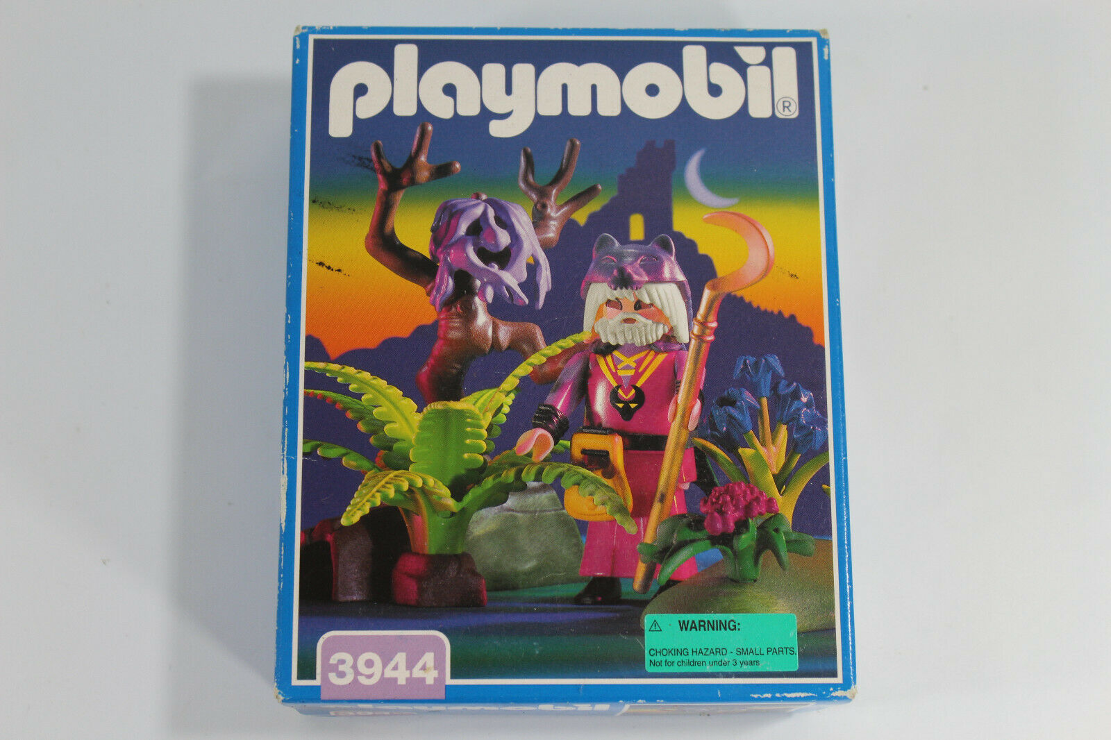 castle magic fairytale Playmobil Wizard Druid Magician Male Figure /& potion