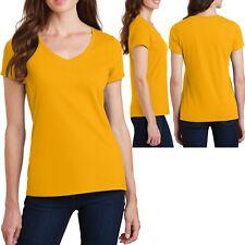 7774282974b item 2 Plus Size Ladies V-Neck T-Shirt Soft Ring Spun Cotton Womens Tee Top  XL 2X 3X 4X -Plus Size Ladies V-Neck T-Shirt Soft Ring Spun Cotton Womens  Tee ...