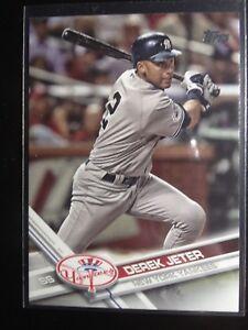 Details About 2017 Topps Update Us 236 Derek Jeter Sp Legend Photo Variation Baseball Card