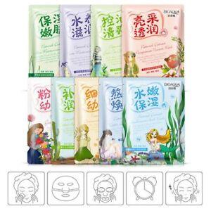 Korean Essence Collagen Facial Mask Sheet Moisture Face Pack Skin Care Mask
