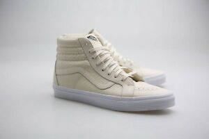 b5fe9499737b Vans Men Sk8-Hi Reissue DX - Armor Leather white / turtledove ...
