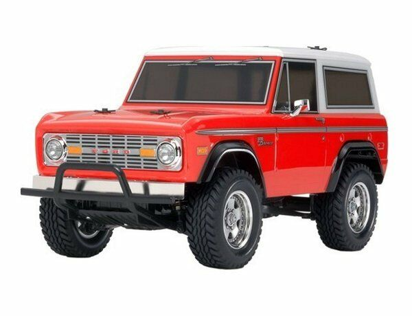 58469 tamiya ford bronco 1973 cc-01 chassis - radio rc - car kit neue boxen