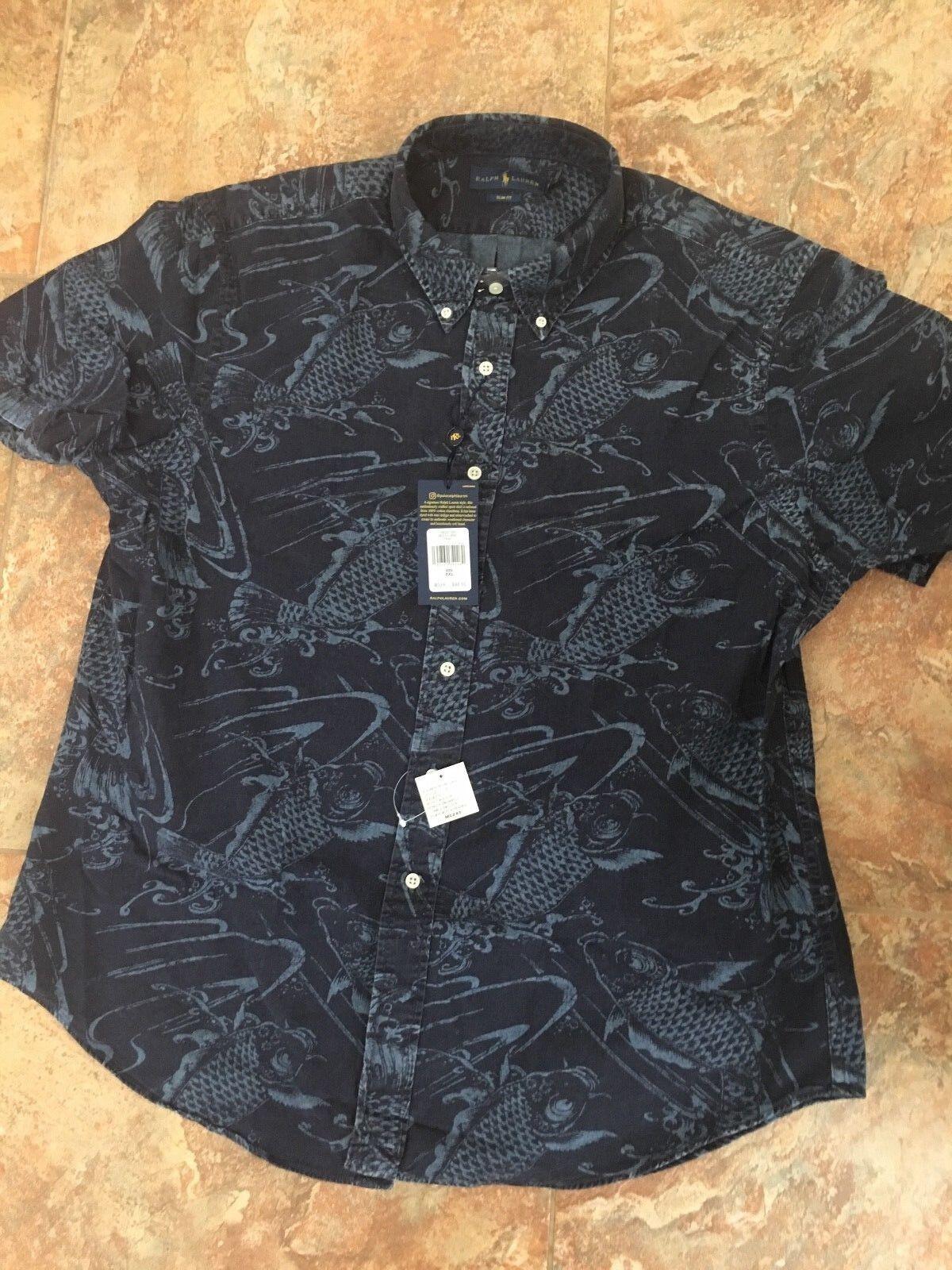1590 520 L 52//54 OKAY  Herren Polo Shirt * blau * Gr